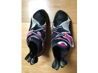 Climbing shoes La Sportiva Solutions female UK 5.5 (EU 38.5) - like NEW (used 2 weeks indoors)