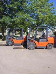 DIESEL FORKLIFTS - VALUE FORKLIFTS are here NOW! $23,500.00!