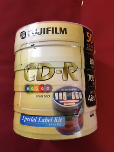 Fujifilm CD-R Color 50-Pack New, Never Opened