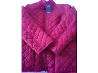 ladies jacket, size 16 petite, red, brand new with labels