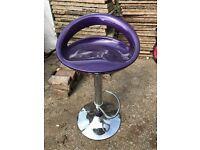 Purple seat - barstool