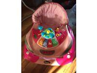 Travel cot/playpen and baby walker