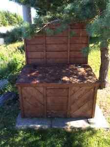 Sturdy hand made garbag box for sale St. John's Newfoundland image 1