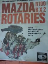 MAZDA ROTARIES R100 & RX2 WORKSHOP REPAIR MANUAL c1972 Dianella Stirling Area Preview