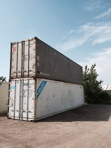 Conteneur isolé, reefer container