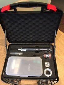 Kronos Multipick Complete Set - Spinner, Tensioner, 2 x Batteries in hard case