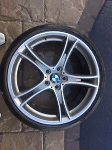 BMW summer tires (used only one summer!!!) Cornwall Ontario image 1