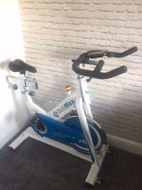 Bodymax B15 White Indoor Cycle Exercise Bike