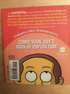 The Simpsons Library Of Wisdom Comic Book Guy's Book Of Pop Cult Edmonton Edmonton Area image 2