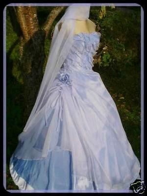 Traumhaftes Cinderella Ballkleid von B'Dazzle USA in pastell lila Gr 36