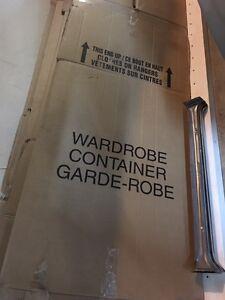 9 Wardrobe moving boxes