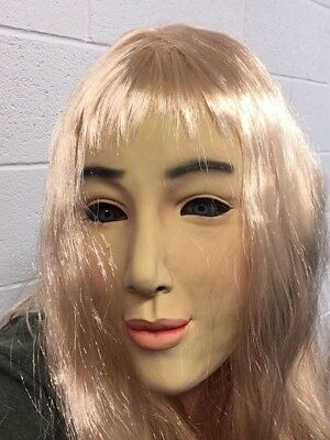Weiblich Latex Maske & Kostüm Perücke Realistische Living Dolls - Living Doll Kostüm