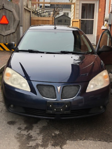 2008 Pontiac G6, great condition, no accidents, CERTIFIED