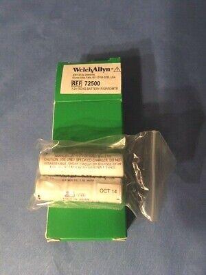 Welch Allyn 72500 7.2 Rechargeable Battery Fspiromtr- New- Oct 2014