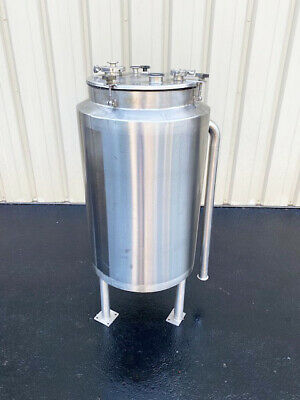 40 Gallon Stainless Steel Insulated Jacketed Tank - Vessel Sanitary Food Grade
