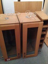 Chesterton Classic solid oak B & Q kitchen cabinets