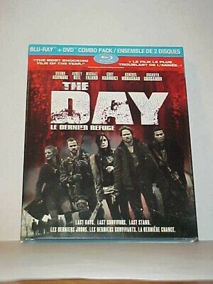 The Day (2012) - Blu Ray + DVD + Slipcover - Brand NEW