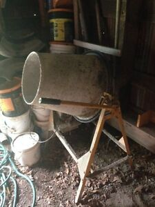 Used Steel Cement Mixer