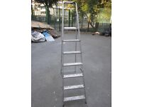 Ladder for sale . Made of aluminium . 7 steps