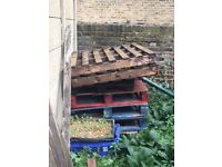 FREE pallet boards - collection Walthamstow village