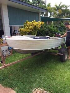3.9 metre Savage Tinny - 15 hp 2 stroke Mercury Tiwi Darwin City Preview