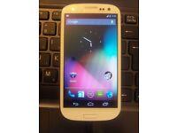 Gold Samsung Galaxy S3