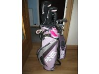 Ladies Slazenger Golf Clubs and Golf Bag