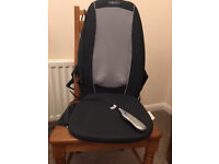 Homedics Shiatsu + Massager With Heat and adjustable rolling action