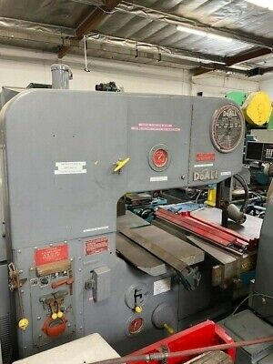 Doall Model 3613-2 Tilting Table Vertical Band Saw 36 5713