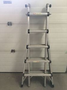 Telescoping Multi-Function Ladder 22'