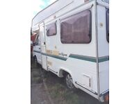4 Berth Motorhome, Elddis Eclipse on Renault Trafic 2.5 diesel.