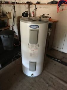 SpaceSaver Electric Hot Water Heater about four years old