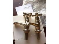 Basin / Sink Taps - Vintage Gold