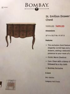 Bombay - St. Emilion Drawer Chest