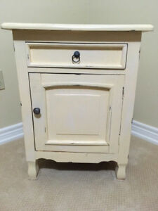 Decorative Cupboard Style End Table