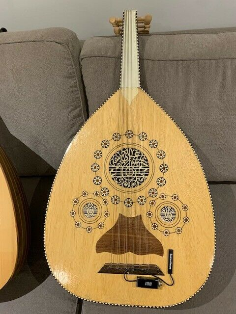 Syrian Oud - Excellent Condition - Veteran Owned - Microphone Ready