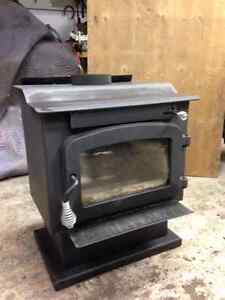 Poele a Bois / Wood Stove /// On Hold pending Pick up on Monday