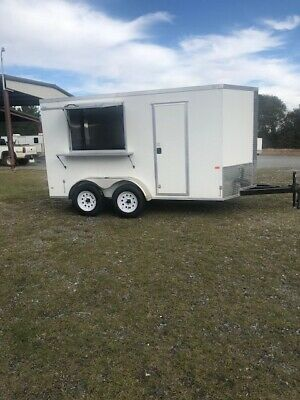 New 2019 - 6' x 12' Food Concession TrailerShips For $1.35 A -