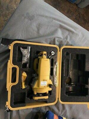 Very Clean Topcon Dt-209 Optical Digital Theodolite With Original Case Dt-200