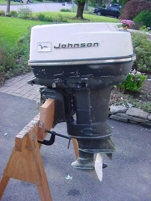 (1968 Johnson Electric 40 Outboard Motor Parts or Repair)
