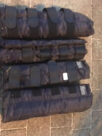 Horse Travel Boots - Shires, size small, Full set