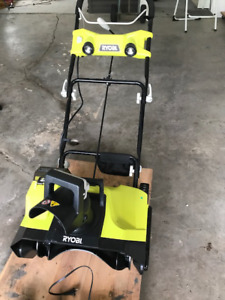RY0BI ELECTRIC SNOWBLOWER
