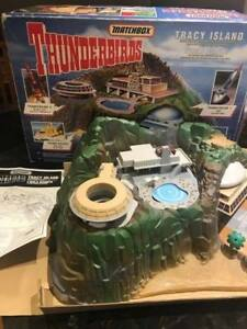 1992 Matchbox Thunderbirds Tracy Island Complete w/Box RARE