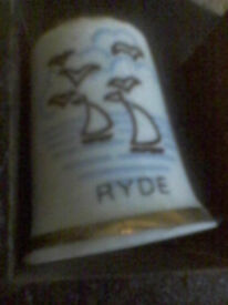 RYDE (isle of wight) collectable thimble