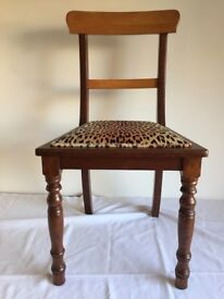 DINING CHAIRS VINTAGE CAPE DUTCH Style Set of 6