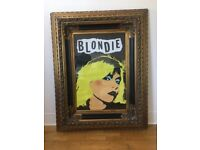 "Blondie ""Punk"" Poster in Gilded Frame"