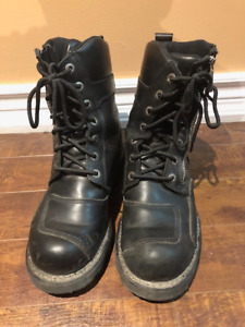 Harley Davidson Motorcycle Riding Boots - Men's Size 7