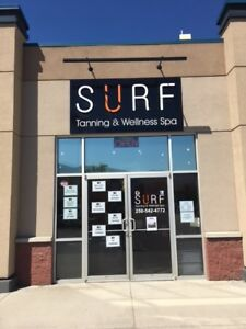 SURF Tanning & Wellness Spa - Turn Key Business for Sale
