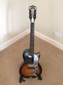 KAY VALUE LEADER - K1962 1960's VINTAGE GUITAR MADE IN THE USA