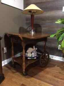 Anitque tea cart